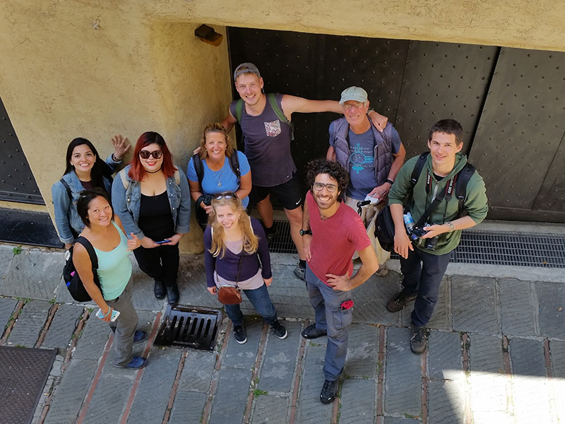 Spyros Tour a Manena Hostel a Genova