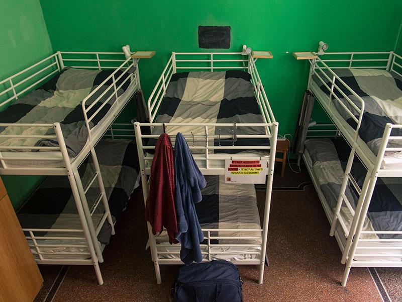 Camera Verde, Manena Hostel a Genova