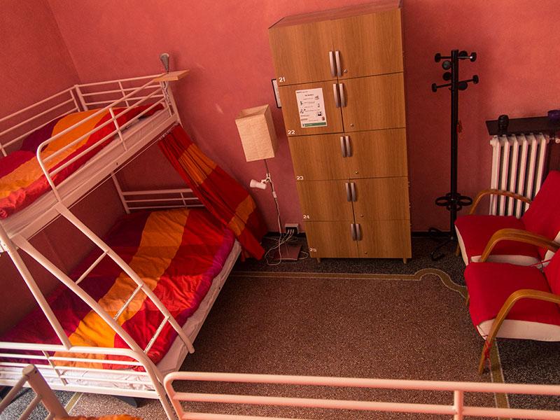 Camera rosa, Manena hostel, vista dall'alto